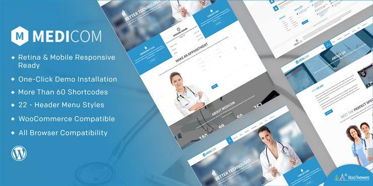 Medicom – Medical & Health WordPress Theme