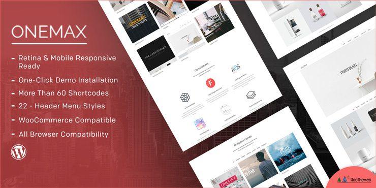 OneMax – Responsive Multi-Purpose WordPress Theme