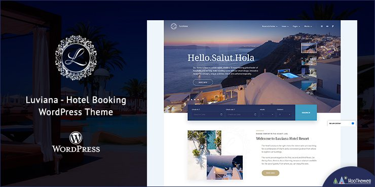 Luviana – Hotel Booking WordPress Theme