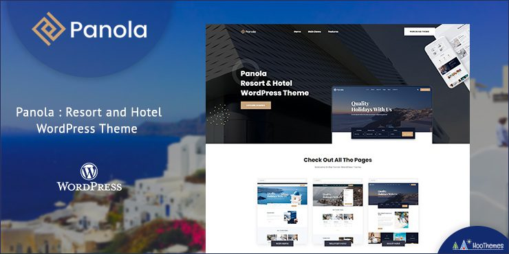 Panola - Resort and Hotel WordPress Theme
