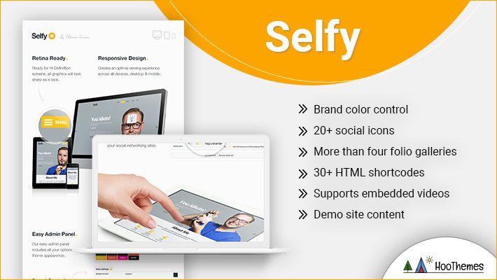 Selfy Personal Branding WordPress Theme