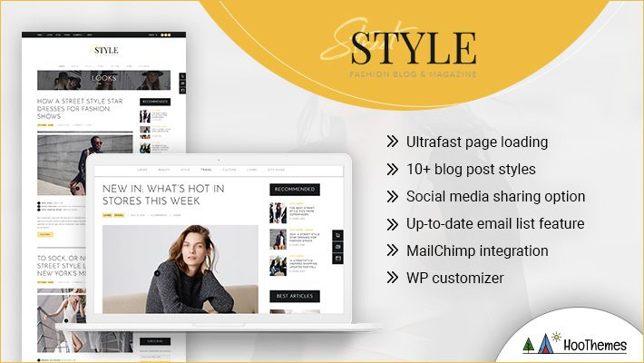 Street Style Personal Branding WordPress Theme