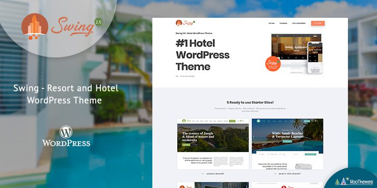 Swing – Resort and Hotel WordPress Theme