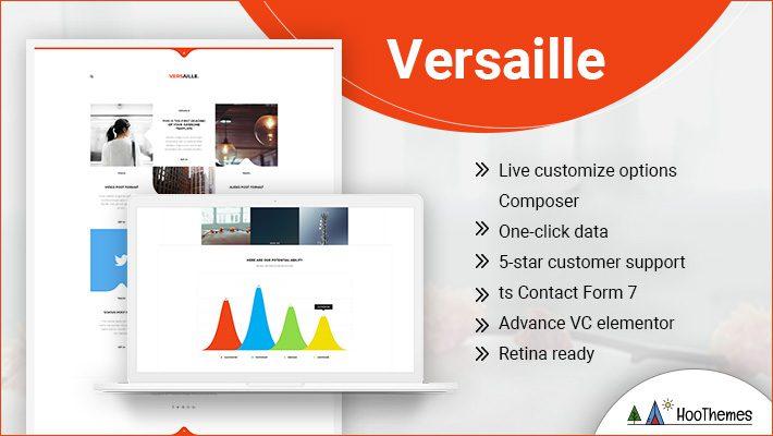 Versaille Personal Branding WordPress Theme