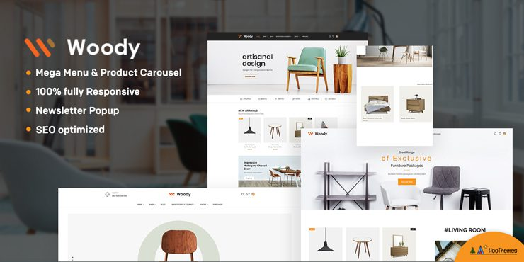 Woody Woodworking WP Theme