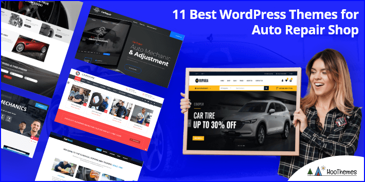 11 Best Auto Repair Wordpress Themes 2021
