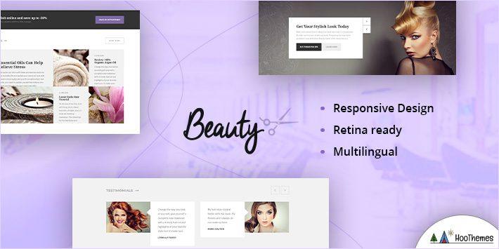 Beauty - Hair Salon, Nail, Spa, Fashion WP Theme
