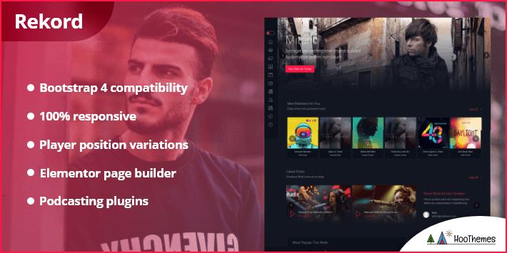 Rekord Ajaxify Music Events Podcasts Multipurpose WordPress Theme
