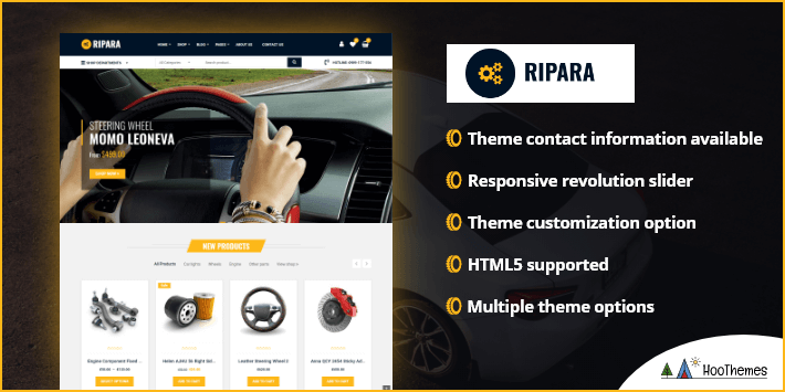 Ripara Auto Repair Car WordPress Theme