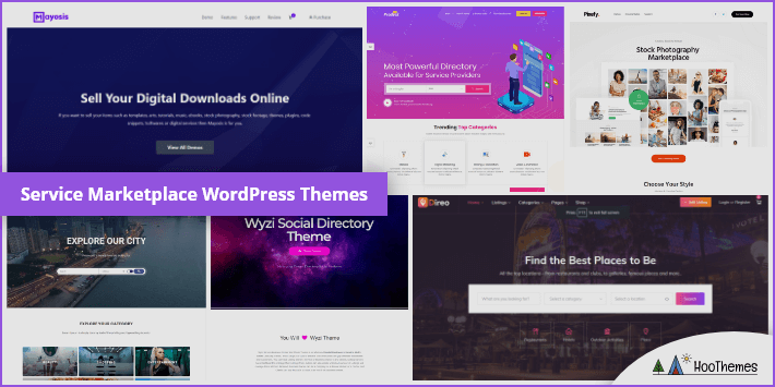 Service Marketplace WordPress Theme