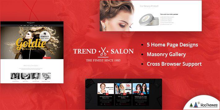 Trend Salon - Hairdresser WordPress