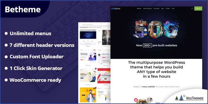 BeTheme - Responsive Multi-Purpose Easiest WordPress Theme