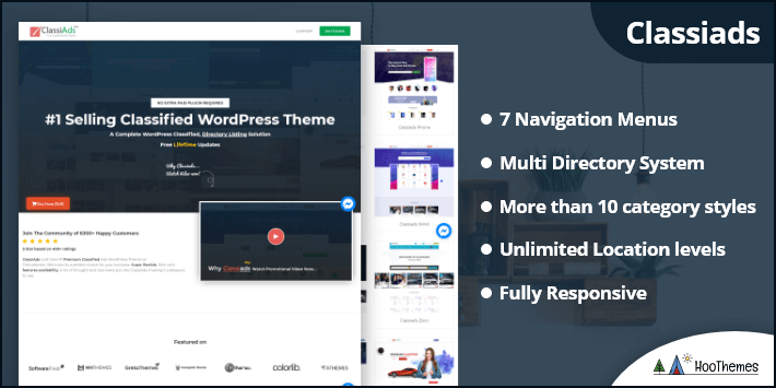 Classiads - Easiest Classified Ads WordPress Theme