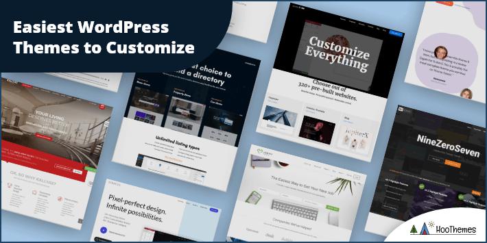 Easiest WordPress Themes to Customize