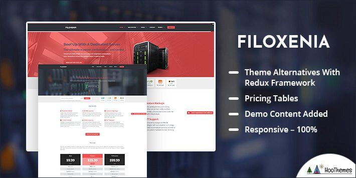 Filoxenia – WordPress Hosting Theme + WHMCS
