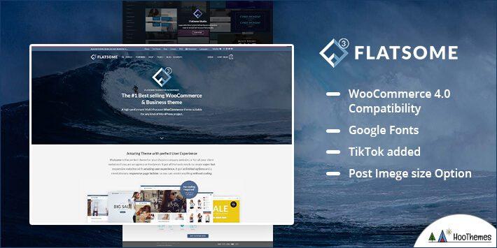 Flatsome – Multi-Purpose Responsive WooCommerce Theme