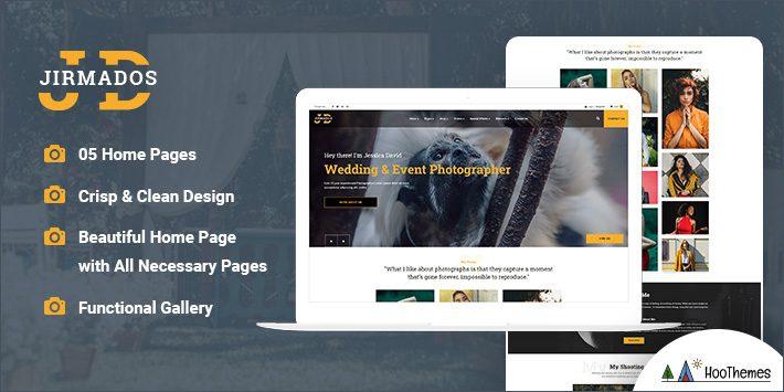 Jirmados - WordPress Photography Theme