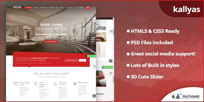 KALLYAS - Creative eCommerce Multi-Purpose Easiest WordPress Theme