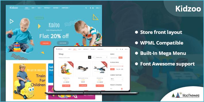 Kidzoo - Kids and Baby Store WordPress eCommerce Theme