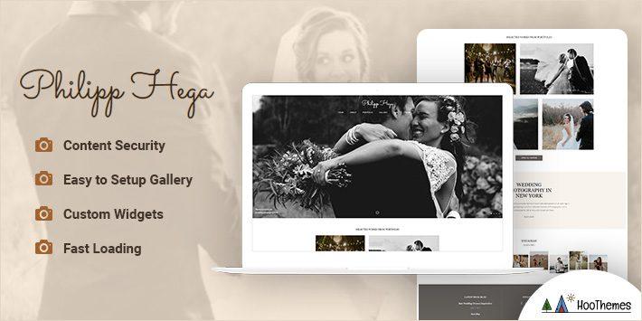 PH - Wedding Photography Portfolio WordPress Theme