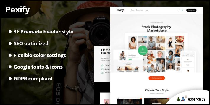 Pexify- Service Marketplace WordPress Theme