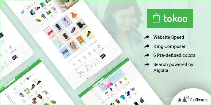 Tokoo Electronics Store Affiliates Website WordPress Theme