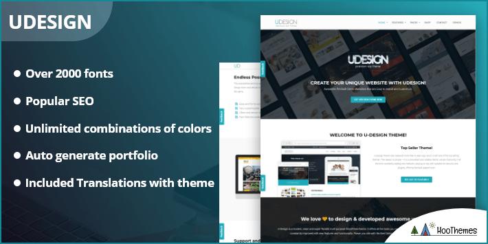 uDesign - Easiest WordPress Theme to Customize
