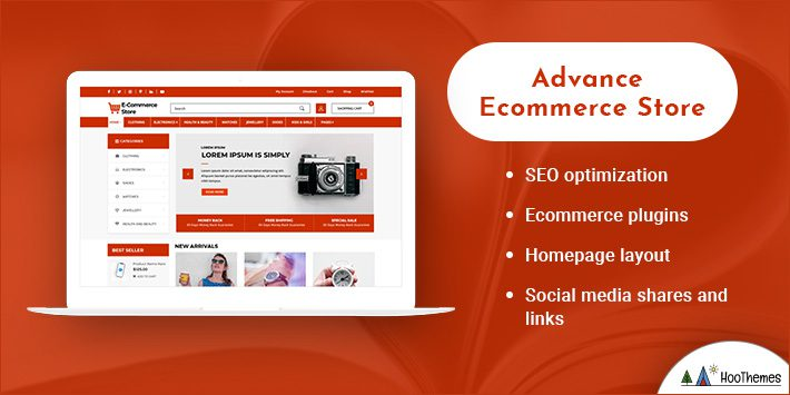 Advance Ecommerce Store WordPress Themes for Selling Books