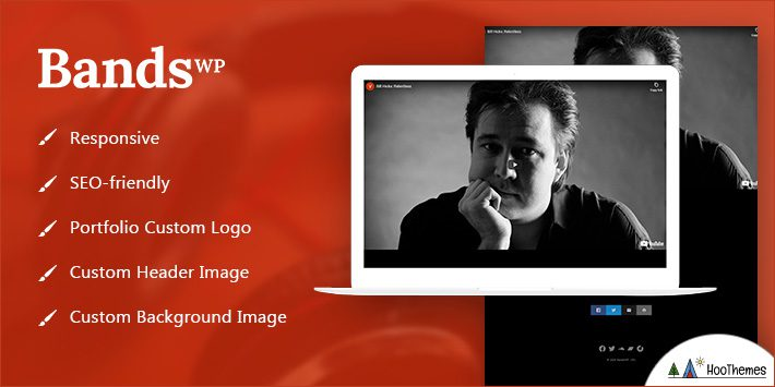 Bands WordPress Themes for Artists