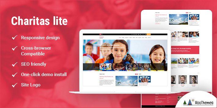 Charitas Lite WordPress Themes for Nonprofits