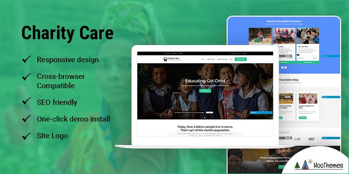 Charity Care WordPress Themes for Nonprofits