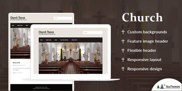 Church Free WordPress Themes