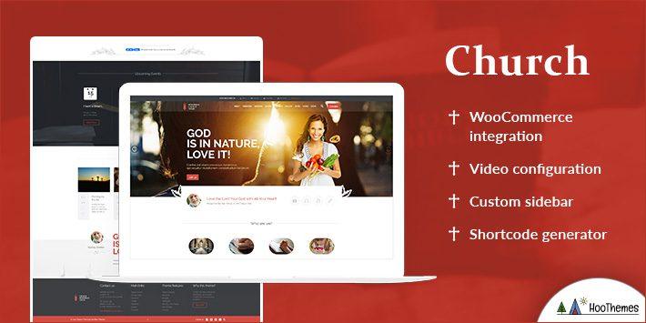 Church - WordPress Theme