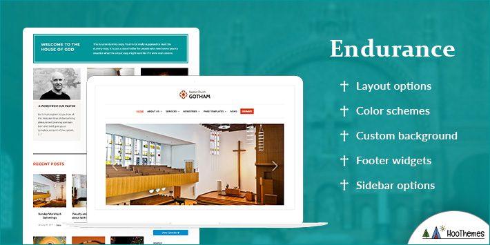 Endurance - Free WordPress Themes for Churches