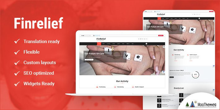 FinRelief WordPress Themes for Nonprofits
