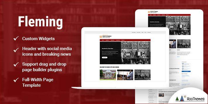 Fleming WordPress Themes for Nonprofits