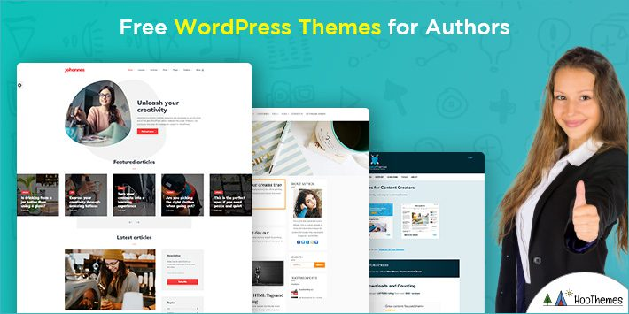 Free WordPress Themes for Authors