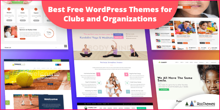 Free WordPress Themes for Clubs and Organizations