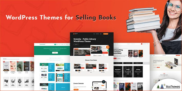 Free WordPress Themes for Selling Books Online