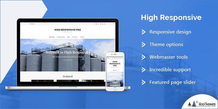 High Responsive WordPress Theme