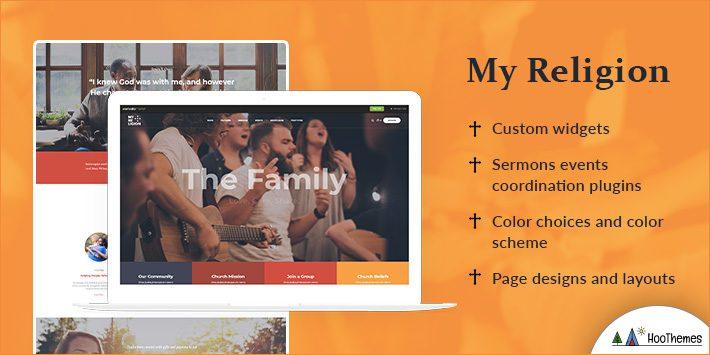 My Religion - Church & Charity WordPress Theme