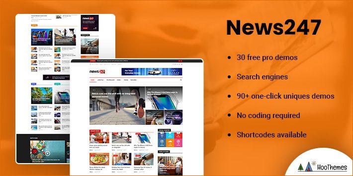 News247 - News Magazine WordPress Theme