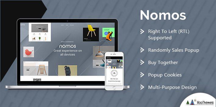 Nomos - Modern AJAX Shop Designed For Mobile And SEO Friendly
