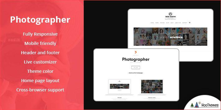 Photographer WordPress Theme