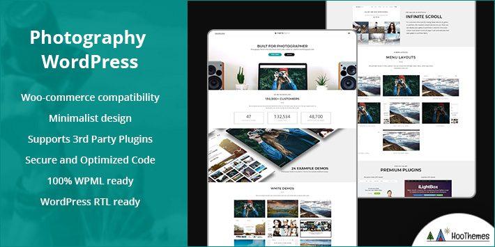 Photography WordPress WP Theme