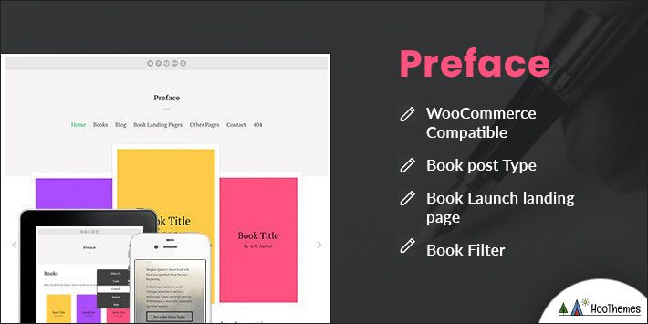 Preface - A WordPress Theme for Authors