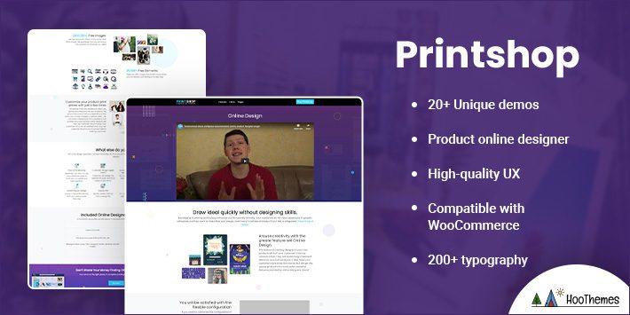 Printshop - WordPress Responsive Printing Theme