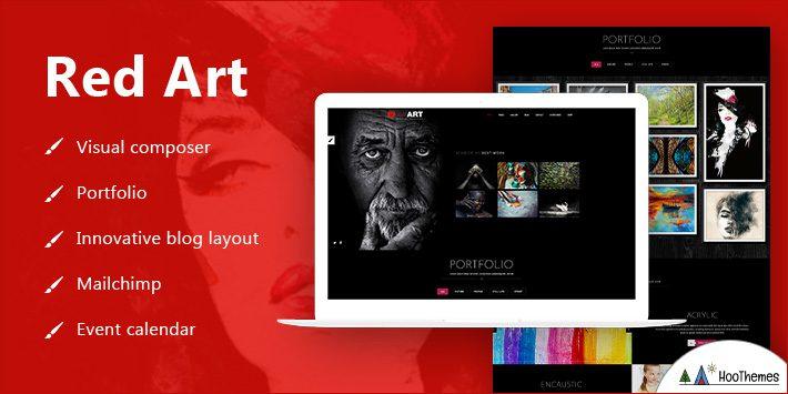 Red Art - Artist Portfolio