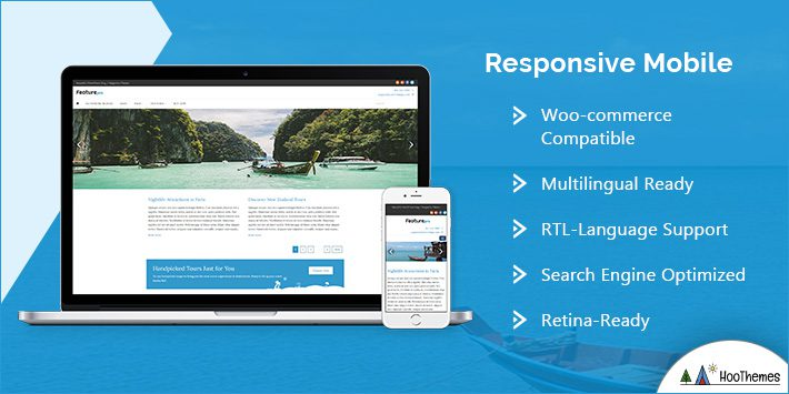 Responsive and Mobile-friendly WP Theme