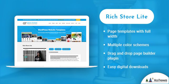 Rich Store Lite WordPress Themes for Selling Books